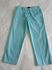 Talbot's Light Turquoise Capri Pants Size 0 Petite