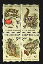 CZECH REPUBLIC 1996 NATURE CONSERVATION SET MNH