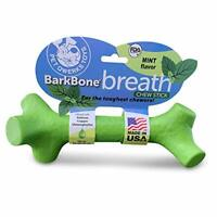 Pet Qwerks Barkbone Breath Dental Chew Stick with Mint Flavor for Medium