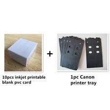 Plastic PVC ID card Inkjet printer tray for Canon PIXMA IP4600 IP4700 MG5250
