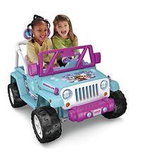 Frozen Jeep Wrangler Disney Princess Elsa Ana Ride On 12v Electric Power Wheel