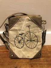 NEW Myra Bag Canvas Street By cycle       Bicycle Shoulder Cross body PurseNWT