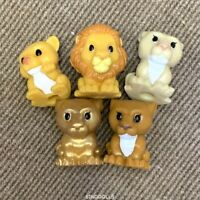 Lot 5 Pcs Woolworths Lion King Ooshies  SIMBA Figure Pencil Toppers toys sduk