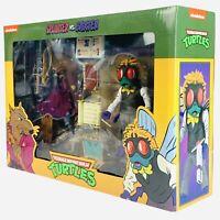 NECA TMNT Splinter vs Baxter Teenage Mutant Ninja Turtles Nickelodeon Figures