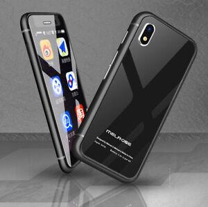 2,45 Zoll Mini 4G WiFi GPS Smartphone Fingerabdruckerkennung Handy entsperren