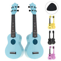 21 Inch Soprano Colorful Acoustic Ukulele Uke 4 Strings Hawaii Guitar Guitarra
