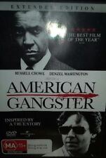 American Gangster DVD Extended Edition Inspired by a True Story MA 15+ Like NEW