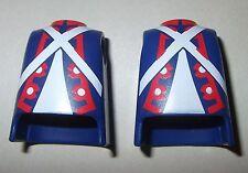 13074 Cuerpo casaca azul tirantas 2u playmobil,body,blue jacket,garde