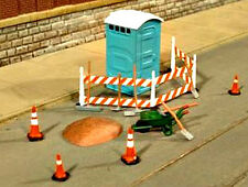 New O SCALE Bachmann Building Site Accessories Scene Scapes
