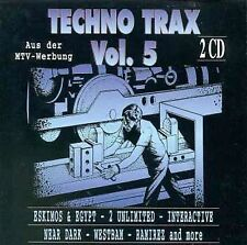 Techno Trax Vol 5, Excellent Import 2CD set 2p05