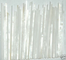 """30"""" inches of Strips Inlays In Ivory-White Mop 1.2mm wide x 1.5mm thickness"""