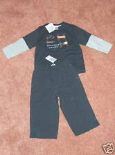 NWT JANIE & JACK Vintage Wheels Go Cart Top/Pants~12-18