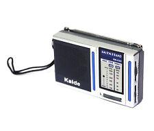 1pc 9x5.5x2.2cm Pocket FM/AM 2 Band Radio KK222 High Sensitive AAA 1.5Vx2 Kaide