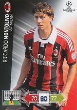 MONTOLIVO # ITALIA MILAN.AC CHAMPIONS LEAGUE TRADING CARDS 2013