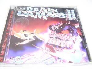 Brain Damage II  * Hardcore / Gabber CD Holland Mecado 1997 *