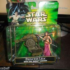Slave Prisoner Princess Leia Sail Barge Cannon POTJ Power Of The Jedi Star Wars
