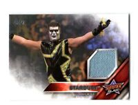 WWE Stardust 2016 Topps Event Used SummerSlam Mat Relic Card SN 198 of 199