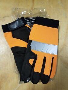 SAS Safety Orange Reflective Gloves 2XL - 6365 - NEW