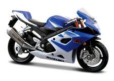 Suzuki Gsx R1000 Diecast Moto Bike 1:18 Scale by Maisto