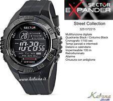 Orologio Sector Collezione Street R3251372215 -69- 10Atm - Crono Digital