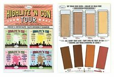 "theBalm BALM ""HIGHLITE 'CON TOUR"" Highlight & Contour Palette BRAND NEW"