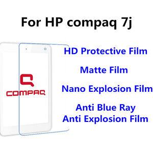 3pcs For HP compaq 7j Matte/Nano Explosion/High Clear Screen Protector