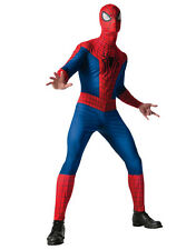 """Spider-Man Mens Jumpsuit Costume,Standard, CHEST 44"""", WAIST 30 - 34"""", INSEAM 33"""""""