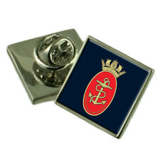 Royal Navy Acns Sterling Lapel Pin Badge