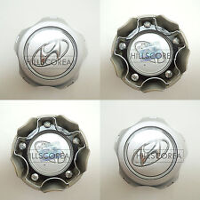 HYUNDAI TUCSON 2004-2009 Genuine OEM Wheel Center Hub Caps 4EA 1Set