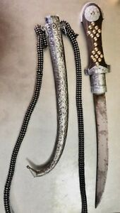 Vintage & Antique Knife handmade - traditional From Morocco.