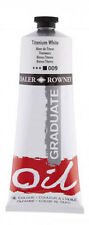 Daler Rowney Graduate 200ml Tube X2 Titanium White Paint Artist Oil