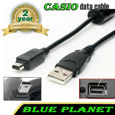CASIO Exilim EX-FC150 / EX-FC160S / EX-G1 / EX-Z1 / EX-ZR100 USB Cable Data Lead