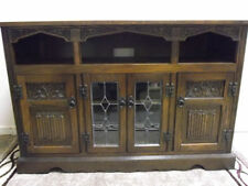 Old Charm Less than 60cm High Oak Cabinets & Cupboards