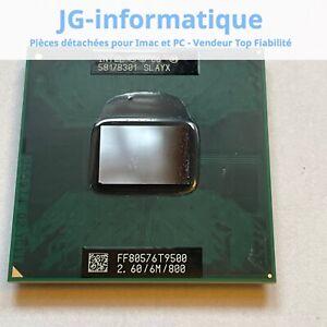 T9500 Intel Core 2 Duo 2.6GHz  6M 800 - processeur Penryn PGA478 JG-informatique