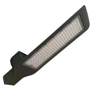 Lampione stradale faro 180W 150 LED luce bianca 6500K alimentazione 220V