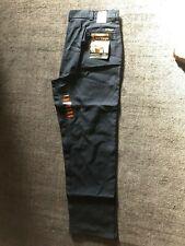 Wangler Work Wear, Canvas Size 42 x 36, Inseam Pants Men Navy Blue             V