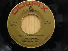 Nina Simone 45 Trouble Mind bw Cotton Eyed Joe   Colpix VG++