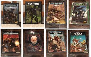 Warhammer 40,000 3rd 4th 5th Edition Codex Books