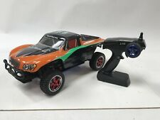 Exceed RC Short Course Truck RTR Nitro Gas Powered RC Car Carbon Orange
