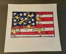 American music festival New York city ballet 1988. K. Haring poster print