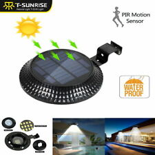12LED Solar Motion Outdoor Garden Path Yard Wall Fence Pathway Lamp Gutter Light