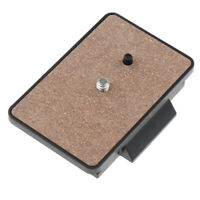 Tripod Mounting Quick Release Plate for YUNTENG VCT-880, Lightweight