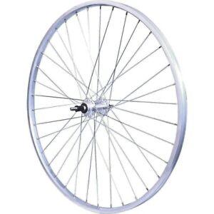 """Roue AR vélo VTT 26"""" 5/6/7 Vitesses roue libre visser / Blocage Rapide QR Vélox"""