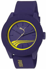 Men's Puma Purple Rubber Fashion Watch PU103971005