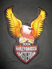 Vintage HARLEY DAVIDSON MOTOR CYCLES AMSTERDAM Stitched XXX (2XL) T-Shirt