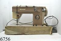 Vintage Nelco Sewing Machine Model R-375-2 Made In Japan Tested Working Pedal