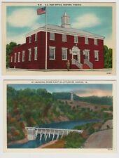 2 Vintage Postcards - Views of Radford Virginia
