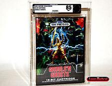 Ghouls 'N Ghosts SEGA Genesis Brand New Factory Sealed VGA 85 Mint SNES NES