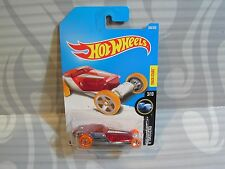 2017 Hot Wheels ''X-Raycers'' #268 =Hi-Roller= Rojo & Cromo Interior