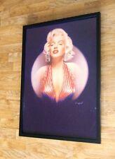 Marilyn Monroe framed wall art -50x70cm, marilyn monroe by Stuart Coffield